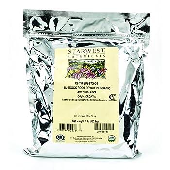 Best burdock root powder organic Reviews