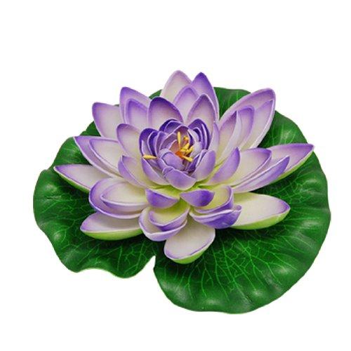 Fleur de Lotus de décoration pour marre et Aquarium
