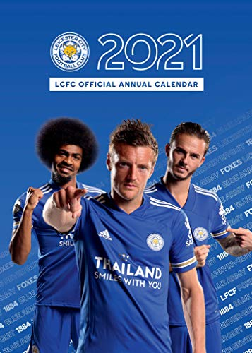Leicester City FC Official 2021 A3 The Foxes Football Wall Calendar Published by Global Merchandising