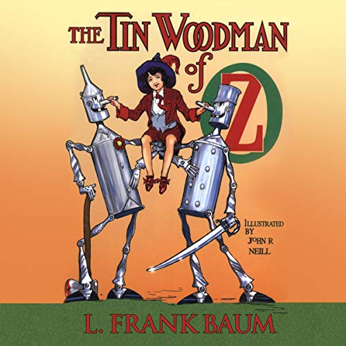 The Tin Woodman of Oz cover art