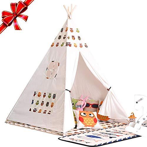 Dream-cool Spielzelt, Zelt, Haus für Kinder, indisches Tipi-Zelt Indoor Spielzeug Prinzessin Prinz Baby Zelt Spielhaus für Mädchen Jungen Outdoor Spielhaus