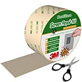 Screen Repair Kit, 2 Inch x 10 Feet Window and Door Screen Repair Patch Tape Strong with 3M Adhesive (Gray)