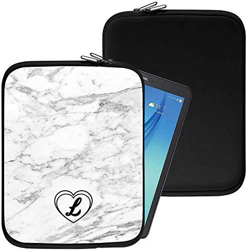 Personalisiert Marmor Neopren Tablethülle Case Tasche (95) für Huawei Mediapad X1 7.0 (7