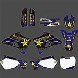 Pegatinas de Motocross Fondo por Completo de gráficos Adhesivos Pegatinas Motocicleta for Yamaha YZ125 YZ250 YZ 125 YZ 250 1996 1997 1998 1999 2000 2001