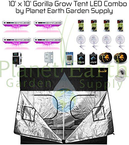 Gorilla Grow Tent Kit 1000w KIND LED XL1000 Package #2