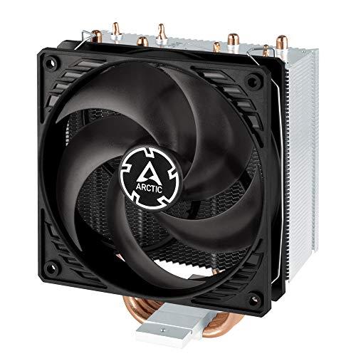 ARCTIC Freezer 34 - Tower Prozessorkühler mit P-Serie Lüfter für Intel und AMD Sockel, CPU-Kühler mit 120 mm PWM Lüfter, voraufgetragene MX-4 Wärmeleitpaste - Grau