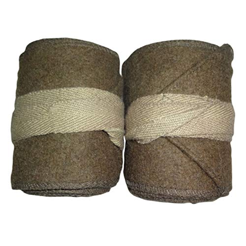 warreplica WW1 US Army Khaki Putties / M1910 Leggings Wraps - Reproduction
