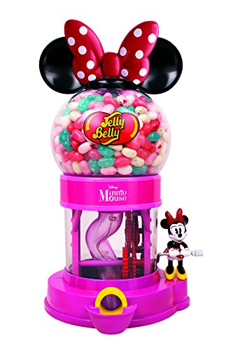 Disney Minnie Mouse Bean Machine w/ 1oz Jelly Belly JellyBeans