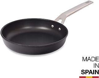 Valira Aire Sartén, Acero, Negro, 24 cm