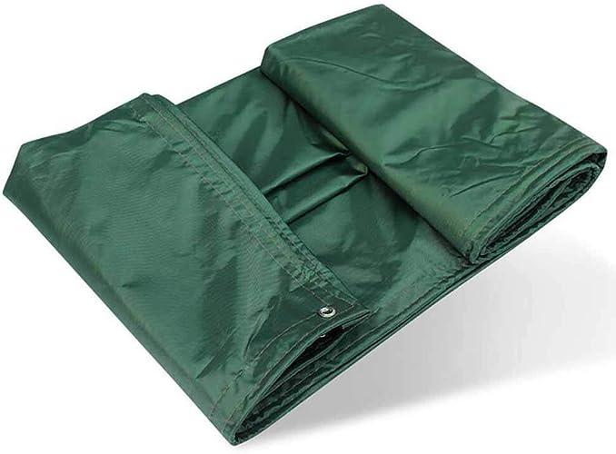 SZ JIAOJIAO étanche Tissu épais Bache étanche Toile Bache en Caoutchouc Bache De Prougeection Imperméable Vert Tissu 450G M2,3M×4M
