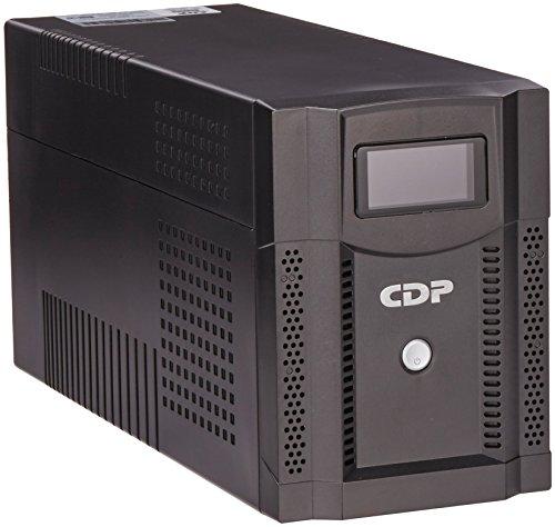 CDP UPRS 2008 No Break 2000Va / 1400W, 8 Contactos, para Aplicaciones Corporativas de Alto Nivel, Negro
