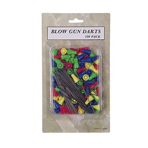 G8DS 100 Stahl Pfeile Darts für Sport Präzisions Blasrohr Ersatzpfeile