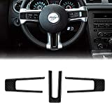 MICOOS Compatible with Carbon Fiber Steering Wheel Cover...