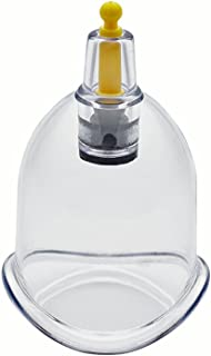 Wholesale Cupping Therapy Vacuum Suction Disposable Hijama Cups Chiropractor Acupuncture Physiotherapy - Multiple Sizes - Express Delivery Worldwide - Size B4 Curved (3.58 cm Inner Dia) (50 Cups)