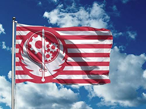 Brotherhood of Steel   3 x 5 ft / 90 x 150 cm   Long Lasting Flag