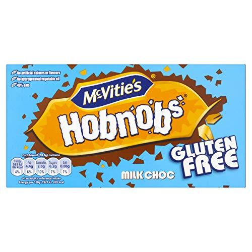 McVities Gluten Free Milk Chocolate Hobnobs Biscuits