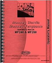 Massey Ferguson 240 250 Tractor Operators Manual (MH-O-MF240,250)