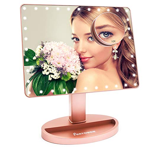 Funtouch Large Lighted Vanity Makeup Mirro