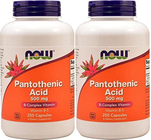 【2個セット】 [海外直送品]パントテン酸 250カプセル 海外直送品 Pantothenic Acid/Vitamin B-5 ...