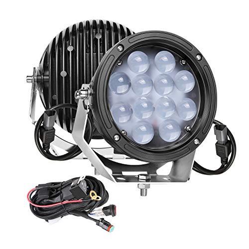 LED Pods, SWATOW 4x4 7 inch Round...