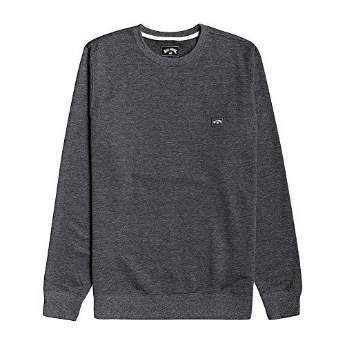 NA PALI SAS, Hossegor - BILLABONG Herren Sweatshirt All Day - Sweatshirt Für Männer, Black, S, U1FL01