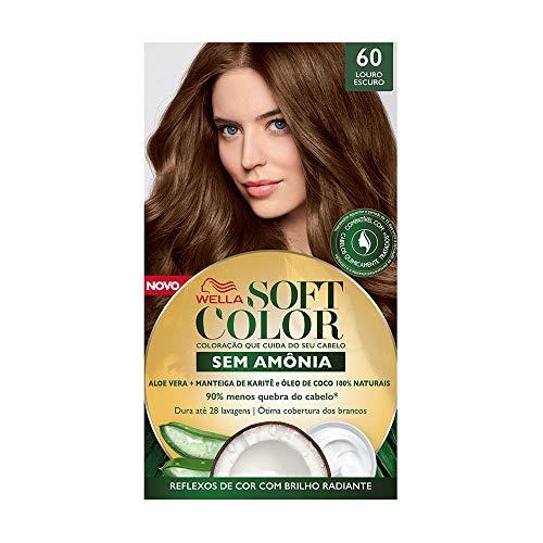 Tinta De Cabelo Soft Color Castanho Escuro 60, Soft Color, Castanho Escuro 60