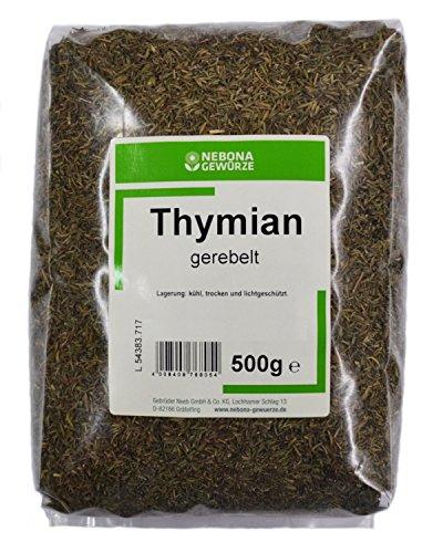 NEBONA Thymian gerebelt 500g, 3er Pack (3 x 500g)