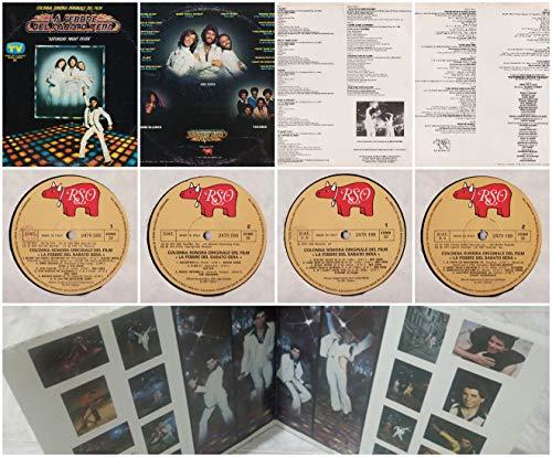 Saturday Night Fever,La febbre del Sabato sera 2xLP GAT RSO Italy 1977