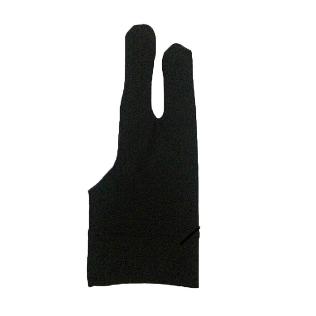 新しい意味事実以下Lazayyii 芸術家 2本 汚れ防止手袋 デッサン及びペン グラフィックタブレット パッド (A)