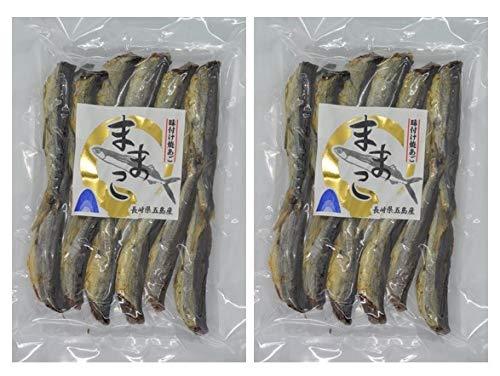 長崎県五島列島産 味付け焼きあご ままこ (80g)×2袋 珍味 産地直送