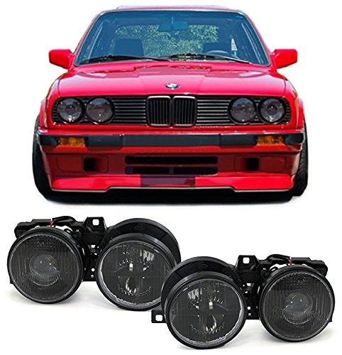 Carparts-Online 22359 Scheinwerfer H1 H1 schwarz - Paar