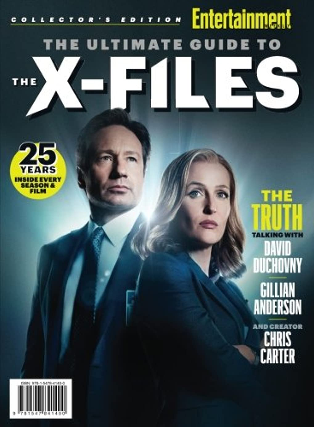 クラウン失業者振る舞いENTERTAINMENT WEEKLY The Ultimate Guide to The X-Files: 25 Years - Inside Every Season & Film