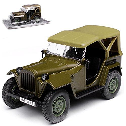 Unbekannt GAZ 67B 1943-1953 1/43 Modellcarsonline Modell Auto mit individiuellem Wunschkennzeichen