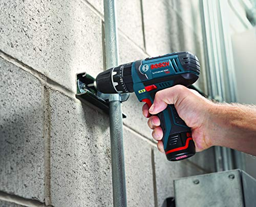 Bosch Bare-Tool PS130BN 12-Volt Max Lithium-Ion Ultra Compact 3/8-Inch Hammer Drill/Driver -Bare Tool with Exact-Fit L-BOXX Tool Insert Tray