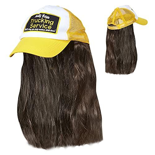 Widmann 05934Trucker Chapeau avec cheveux, One Size