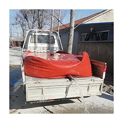 GDMING Plegable Transporte Bolsa De Almacenamiento De Agua, Alta Capacidad Carro Emergencia Depósito De Agua por Exterior Resistente Al Clima Contenedor De Agua, Personalizable