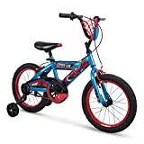 Huffy Bicycle Company 16' Marvel Spider-Man Boys Bike by Huffy, Web Plaque, Blue