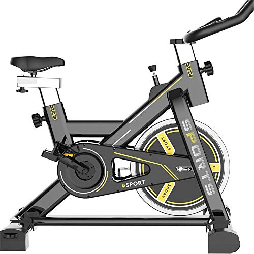 HO-TBO Bicicleta de Ejercicio, Inicio Bicicleta estática Cubierta Equipo de la Aptitud de Bicicleta de Ejercicios adecuados Disfrutando de la Experiencia del Gimnasio en casa