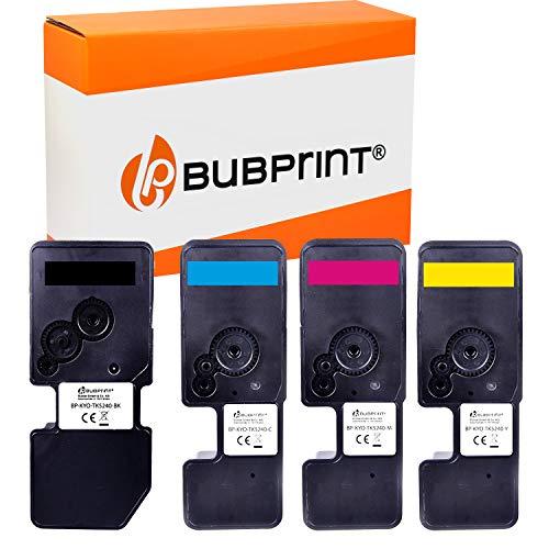 Bubprint 4 Toner kompatibel mit Kyocera TK-5240 TK5240 TK 5240 für Ecosys M5526cdn M5526cdw P5026cdn P5026cdw M 5526 P 5026 M5526 P5026 CDN cdw Set