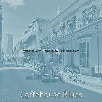Music for Cafes - Terrific Slow Blues Harmonica