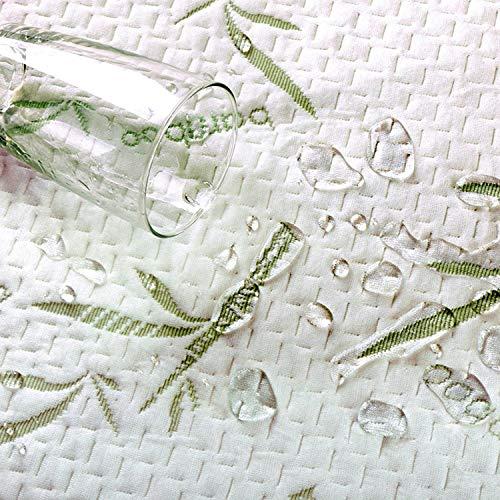 Utopia Bedding Bamboo Mattress Protector - 100% Waterproof - Mattress Cover (King)
