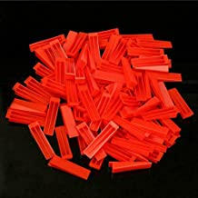 BE-TOOL Tegel Leveling Systeem Wedges, 100 STKS Wedge Tegel Spacers Tegel Leveling Spacer Systeem