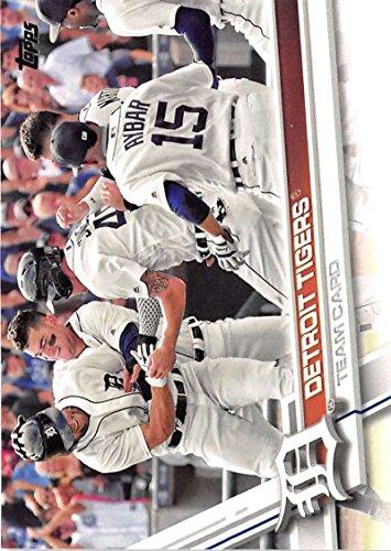 2017 Topps Baseball Series 2#394 Detroit Tigers Tigers