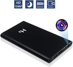 Hidden Spy Camera XDMYWH HD 1080P 5000mAh Power Bank Camera Security Camera Portable Camera No WiFi Needed Nanny Cam