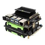 Geekworm T208 UPS 電源管理拡張ボード、