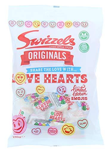 LOVE HEARTS ORIGINALS FRUIT FLAVOUR FIZZY SWEETS BAG (170G)