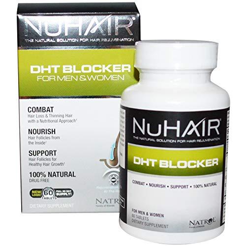 Natrol Nuhair Dht Blocker Tablets Hf, 60 Count