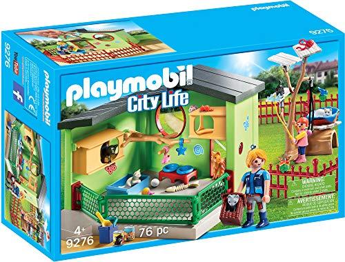 PLAYMOBIL City Life Refugio para Gatos, a Partir de 4 Años (9276)