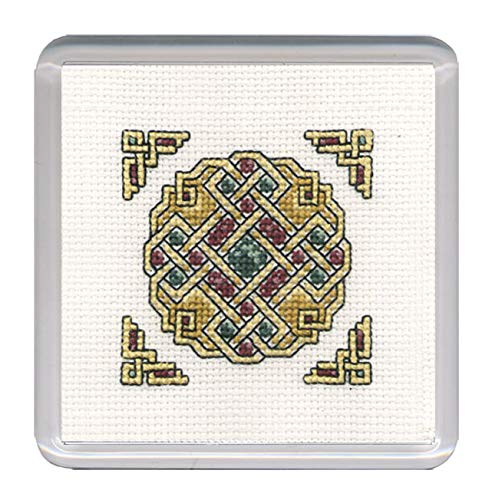 Textile Heritage Coaster Kit - Celtic Jewel