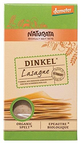 Naturata Bio Lasagne Dinkel hell (3 x 250 gr)